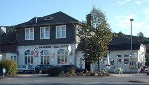 Finnentrop–Freudenberg railway - Bahnhof Attendorn