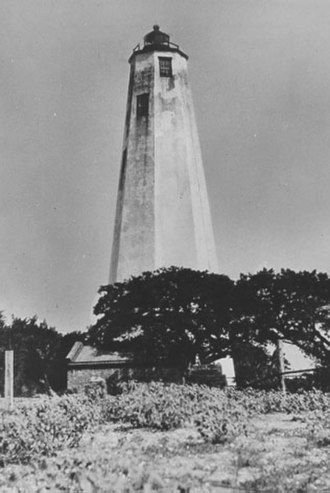 Bald Head Light - Undated USCG photo