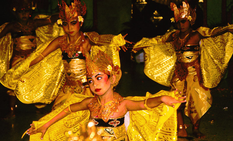 File:Bali Dancers Balinese Dance - Yellow Moths.jpg