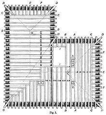 Holzrahmenbau konstruktion grundriss  Balkenlage – Wikipedia