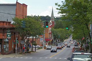 Ballston Spa, New York Village in New York, United States