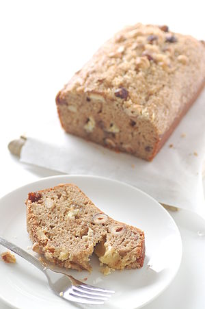 Banana bread - recipe at stonesoup.