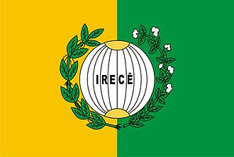 Irecê - Image: Bandeirairece