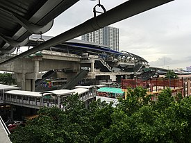 Bang Wa MRT Station (under construction), June 2016.jpg