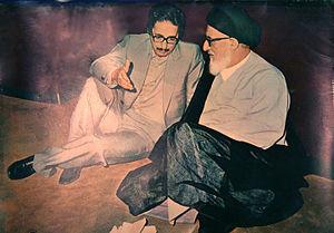 Mahmoud Taleghani - Banisadr and Taleghani