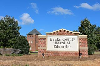 Banks County School District School in Commerce, , Georgia, USA