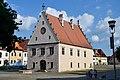 Bardejov Presovsky kraj-Historical Town Hall-north-west view.jpg