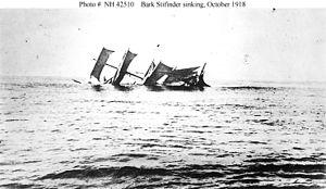 SM U-152 - Image: Bark Stifinder