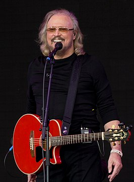 Barry Gibb in 2017