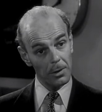 "Bartlett Robinson - Bartlett Robinson in ""All the Lonely Night"", a 1955 episode of Medic"