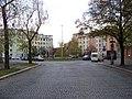 Basilejské náměstí, od východu z Malešické.jpg