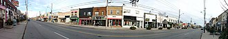 Bayview Avenue - Image: Bayview Avenue south of Eglinton Avenue in Toronto, Canada