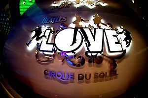 Cirque du Soleil, Love in Mirage, Las Vegas