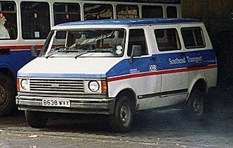 Bedford CF - 1985 CF series 2