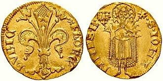 Guilder - Florence gulden (1341)