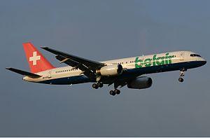 Belair Boeing 757 Pinter.jpg