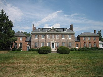 Bowie, Maryland - Image: Belair Mansion 1