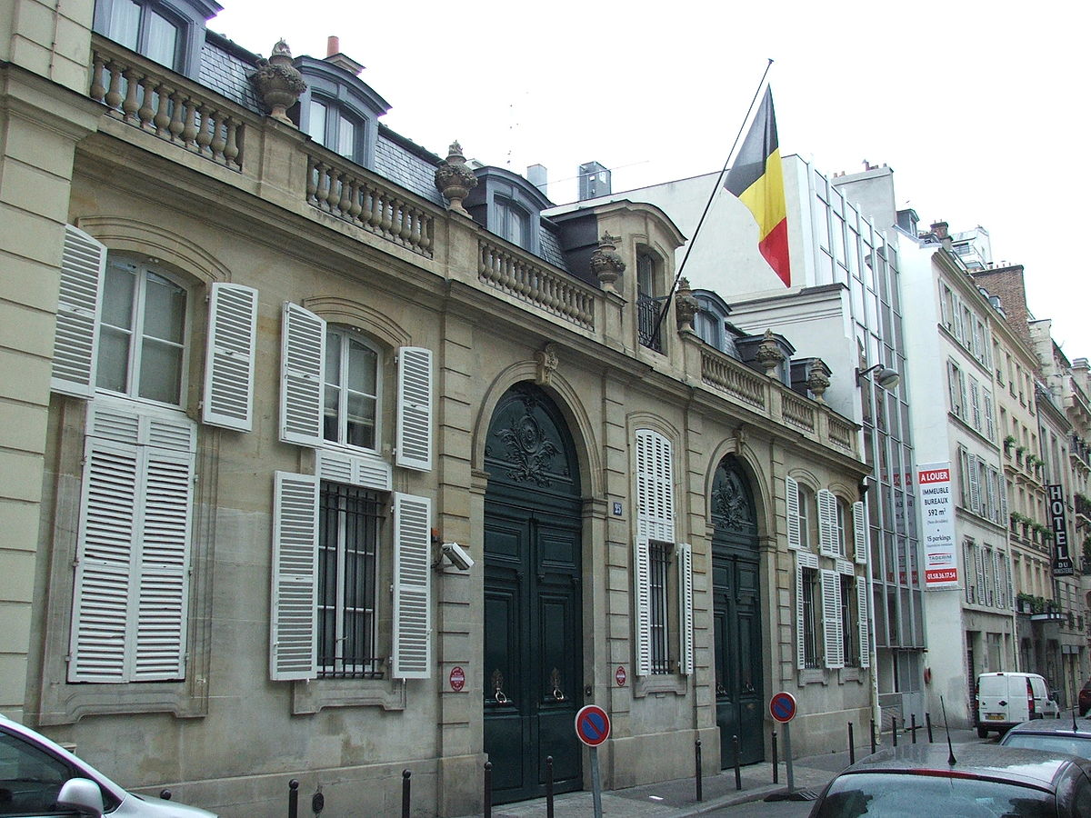 Liste des ambassadeurs de belgique en france wikip dia for Liste des hotels paris