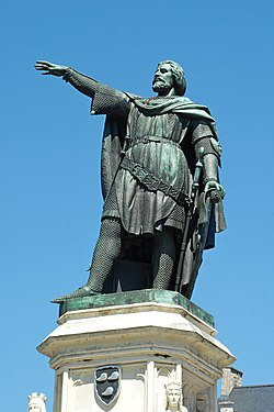 Belgique - Gand - Statue de Jacques van Artevelde - 02.jpg
