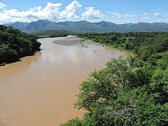 Magdalena River - The river near Villavieja, Huila