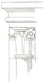 Belmont Abbey Bell Tower Capital 3 Camille Enlart 1921.png