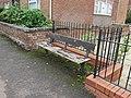 Bench on the A452, Leamington Spa.jpg