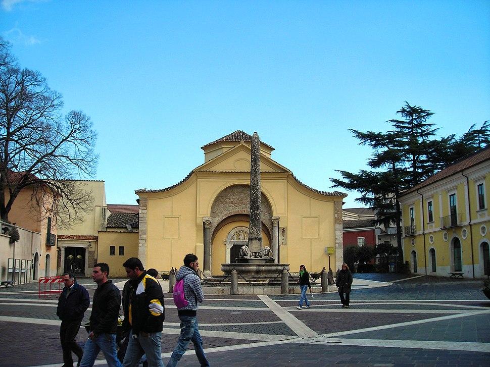 Benevento-Facciata Santa Sofia