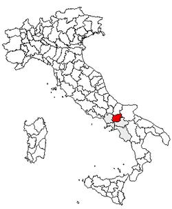 Benevento Megye Wikipedia