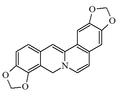 Benzobisdioxolo c fenantridine.png