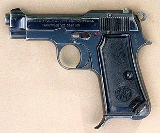 Beretta M1935 - Image: Beretta M1935