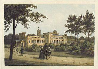 Kroll Opera House - The Kroll Opera House, about 1850