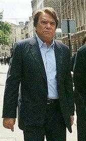 Photographie montrant l'ancien président de l'OM, Bernard Tapie.