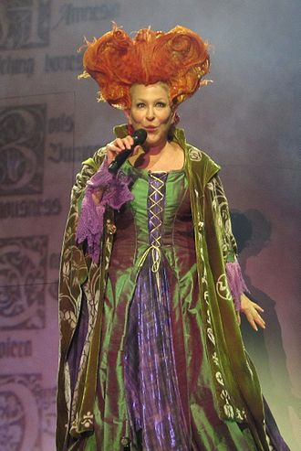 Hocus Pocus (1993 film) - Midler dressed as Winifred Sanderson during her Divine Intervention Tour.