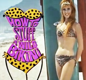 "Beverly Adams - Beverly Adams in trailer for ""How to Stuff a Wild Bikini"" (1965)"