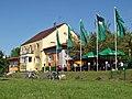 """Biergarten """"Zollhaus"""" am Rhein bei Neuburgweier - panoramio.jpg"""