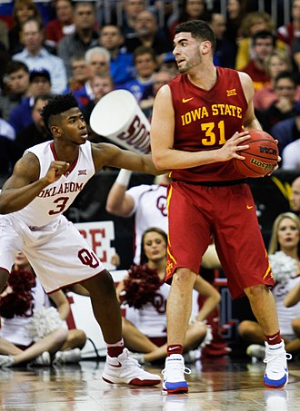 Georges Niang - Niang with the Iowa State Cyclones