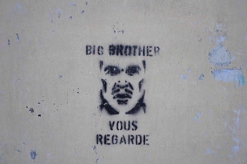File:Big Brother graffiti in France 2.JPG