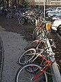 Bikes on Station Road, Cambridge - geograph.org.uk - 614572.jpg