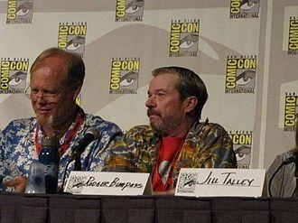 Bill Fagerbakke - Bill Fagerbakke with fellow SpongeBob SquarePants voice actor Rodger Bumpass (the voice of Squidward)