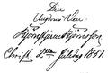 Bjørnstjerne Bjørnson handwriting 1851.png