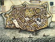 Blaeu 1652 - Harderwijk
