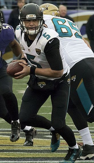Blake Bortles - Bortles against the Baltimore Ravens in 2014
