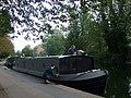 Boat maintenance, Victoria Park - geograph.org.uk - 1536769.jpg