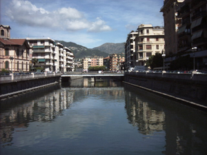Der Fluss Boate (bei Rapallo)