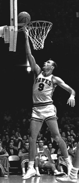 Atlanta Hawks - Pettit in 1957