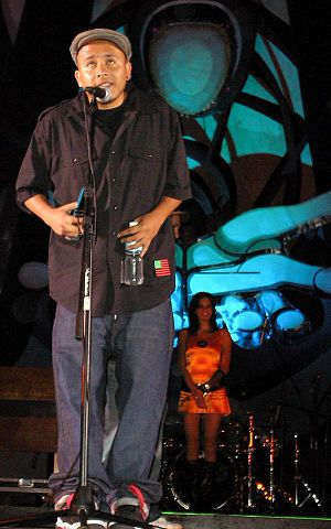 Bocafloja - Bocafloja accepts Indie-O Award, 2008