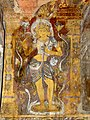 Bodhisattva painting in Abeyadana temple, Pagan 0128.jpg
