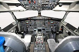 Boeing 737-2V6 Advanced Cockpit Dubai Air Show Ryabtsev.jpg