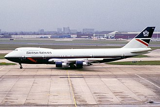 British Airways Flight 149 - G-AWND, the aircraft involved in the episode.