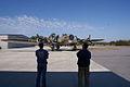 Boeing B-17G-85-DL Flying Fortress Nine-O-Nine Landing Taxi 34 CFatKAM 09Feb2011 (14983564922).jpg